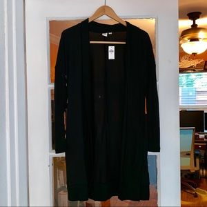 New Gap Black Cardigan